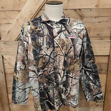 Lincoln Electric Camo Camouflage Print Snap Front Mens Welders Jacket Xl 46 Ch