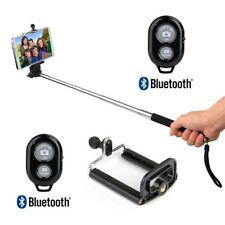 extensible portátil Brazo Monopié Bluetooth disparador remoto de móviles Soporte
