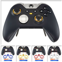 Custom Chrome Accent Joystick Rings Switch Button for Xbox One Elite Replacement