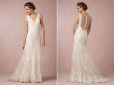 BHLDN Watters Francine Wedding Gown Ivory Size 2- Amazing Condition