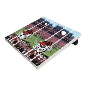 Georgia Bulldogs Alt Stadium Stripe Cornhole Boards - The Perfect Christmas Gift