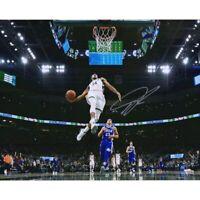 "GIANNIS ANTETOKOUNMPO Autographed Bucks 'In Air' 16"" x 20"" Photograph FANATICS"