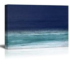 Wall26 - Abstract Seascape Gallery - Canvas Art Wall Decor - 12x18 inches