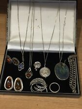 Job Lot Of Silver 925 Jewellery All Wearable