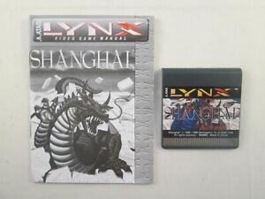 Atari Lynx - Shanghai + Manual