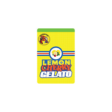 Lemon Cherry Gelato Cali Tin Labels Mylar Bag Stickers