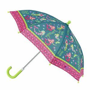 NEW Stephen Joseph Childrens Mermaid Umbrella Kids Girls Rainproof Sunshade