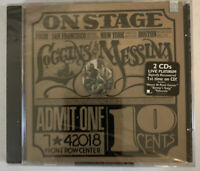 Loggins & Messina - On Stage CD 1998 2 Discs Columbia - FACTORY SEALED!