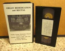 TRINITY METHODIST CHURCH Mighty Moeller Pipe Organ VHS Ohio 1988 Robert Morrison