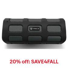 TREBLAB FX100 Bluetooth Portable Wireless Speaker Rugged Outdoors w/ Power Bank