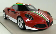 Top Marques 1/18 Scale Alfa Romeo 4C SBK 2014 Safety Pace Resin cast Model Car
