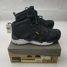 1018647D Keen Mens Boots New In Box Aluminum Toe Sz 11 US San Antonio Mid Black