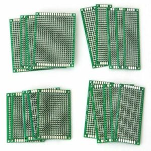 20pcs/set 4Size Double-Side Protoboard Circuit Universal DIY Prototype PCB Board