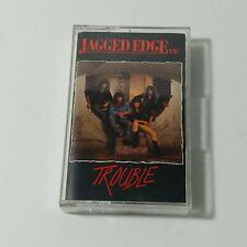 Jagged Edge UK Trouble Cassette 1990