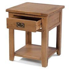 Odessa oak bedroom furniture one drawer bedside cabinet stand unit