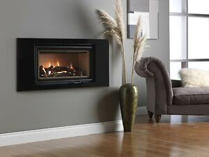 Landscape 750 Hole in the wall Gas Fire REMOTE CONTROL 4.71 (87% Efficiency)