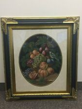 """""""Special Treasures"""" Framed 19 X 24 Matted Tapestry in 27 X 32 Black & Gold Frame"""
