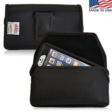 Turtleback iPhone 6 Leather Pouch Holster Flush Belt Clip fits Otterbox Case