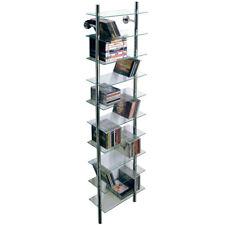Wall Mounted Glass Bathroom Storage Shelves - CH1530_BATH