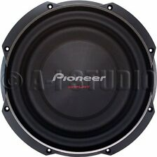"Pioneer Ts-sw2502s4 10"" 1,200-watt Shallow Subwoofer With Single 4ohm Voice Coil"