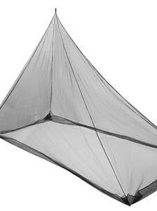 Green Hermit Mosquito Net, Single size, Black