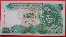 7th Series Malaysia RM5 Ahmad Don Banknote ( Printer Canadian Banknote ) - EF