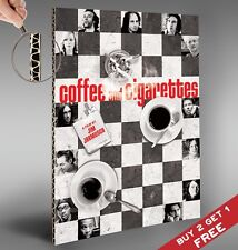 COFFEE AND CIGARETTES 2003 Classic Movie Poster Jim Jarmush * A4 * PRINT PICTURE