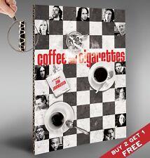 Kaffee und Zigaretten 2003 Classic Film Poster Jim Jarmush * A4 * Print Bild