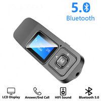 BT12 Wireless Bluetooth 5.0 Receiver Transmitter Adapter For TV Car Accessory