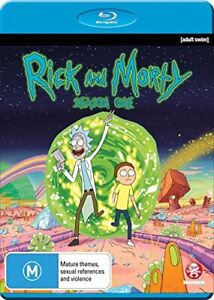 Rick and Morty - Season 1 - DVD  6SVG The Cheap Fast Free Post