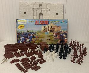 Vintage Alamo Playset with Action Figures original box