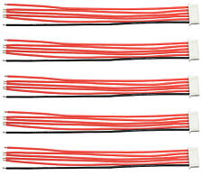 "Apex RC Products JST-XH 5S Balance Plug W/ 6"" / 150mm Wire Lead - 5 Pack #1083"