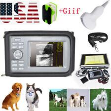 Veterinary Handheld Digital Ultrasonic Scannerconvex Probe Animalcare Toolgift