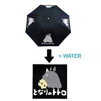 Totoro Anime Black Colour Changing Umbrella
