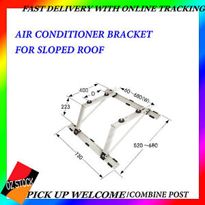 Air Conditioner Bracket For Sloped Roof Anti-Corrosion Weight Support Up To 60kg