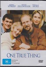 ONE TRUE THING - MERYL STREEP - RENE ZELLWEGER - WILLIAM HURT -  DVD - NEW