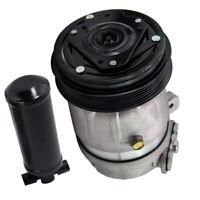 Air Conditioner Compressor & Drier For Holden Commodore VT VX VY V6 3.8L XU6 VX