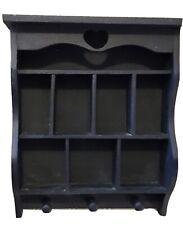 Vintage Blue Wood Shadowbox