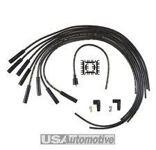 Accel 4040K 8mm Negro Universal Super Stock Cable De Bujía Set-núcleo de grafito