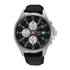 Relojes de pulsera Seiko cuero cronógrafo