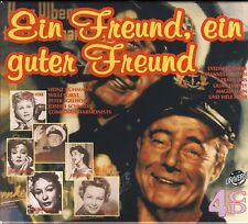 Ein Freund Ein Guter Feund  -4 CD Box- Heinz Rühmann,Marlene Dietrich u.m. NEU!