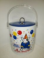 Vintage Spuds MacKenzie Bud Light Beer Ice Party Bucket Container NICE 1987