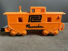 Marx O Train Vintage Orange Penn Central Pacemaker Caboose Model Railroad RR