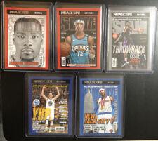 2020-21 NBA Hoops SLAM Magazine Insert Lot Of 5 - Ja, Durant, Curry, Carter Melo