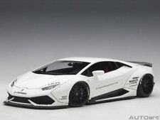 Lamborghini Huracan Super Liberty Walk Blanc Autoart 1/18