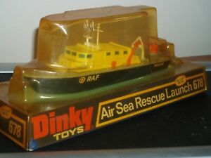 Dinky 678 Air sea rescue launch .New in original packing .