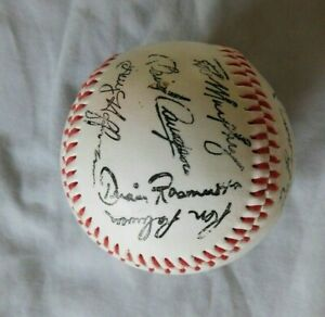 1987 Cincinnati Reds Facsimile signed Baseball