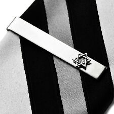 Star of David Tie Clip - Tie Clasp - Business Gift - Handmade - Gift Box