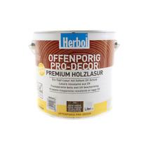 Herbol Offenporig Pro-Decor Premium Holzlasur 0,375L, Eiche rustikal