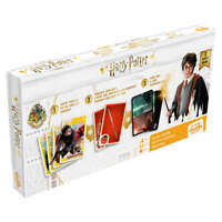 Harry Potter Tripack Playing Cards - Play Happy families, Wand Dual or Obliviate